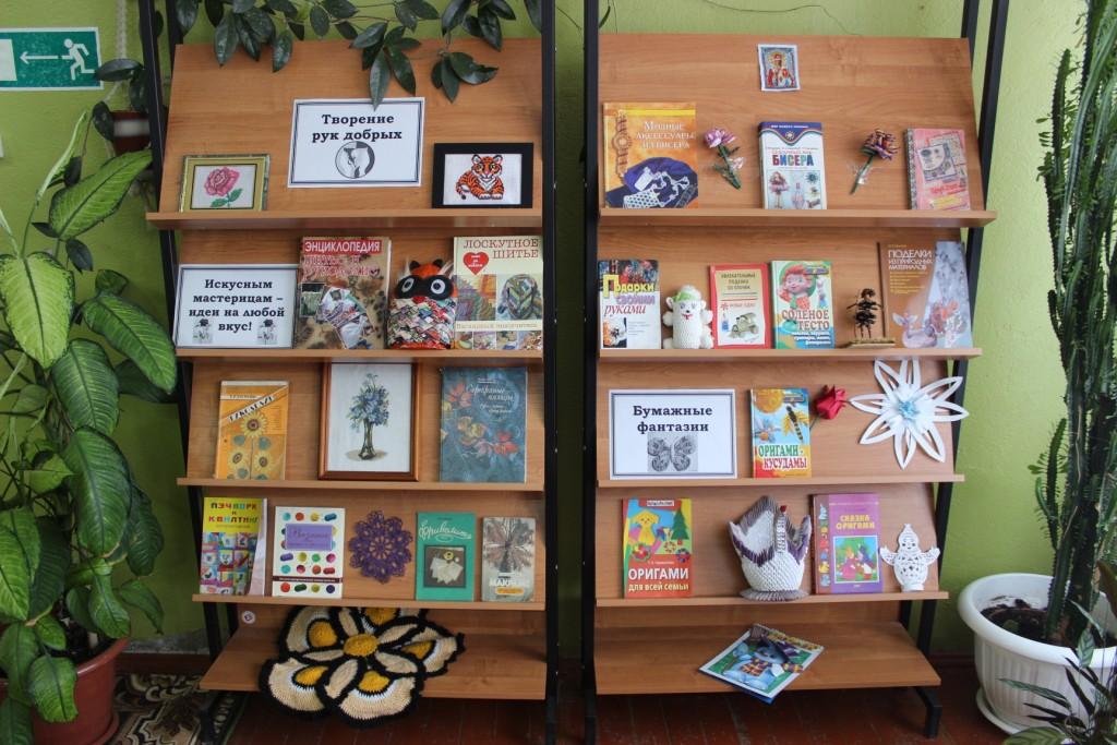 БиблиоМенеджер: 100 названий выставок творчества к декаде